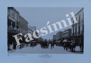 Almería. Nº 5 Paseo de Príncipe Alfonso, hacia 1932. Pequeña (50 x 35 cms) Blanco y Negro.