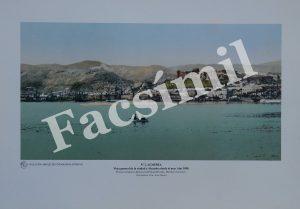 Almería. Vista General de la Ciudad y la Alcazaba. 1989