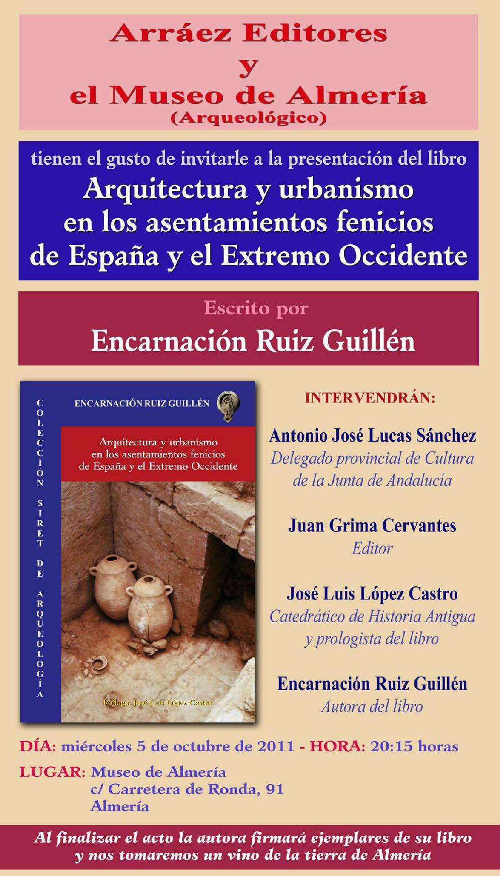 ARQUITECTURA Y URBANISMO EN LOS ASENTAMIENTOS DE ESPAÑA Y EL EXTREMO OCCIDENTE