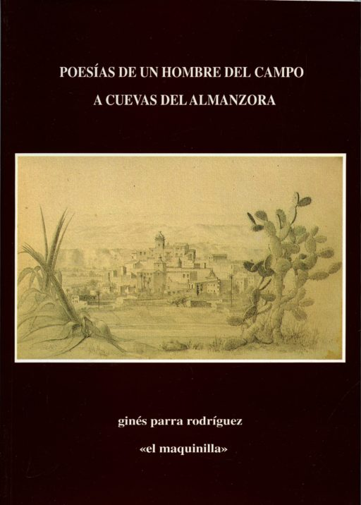 Portada Poesías de un hombre del campo de Ginés Parra Rodríguez de Cuevas del Almanzora