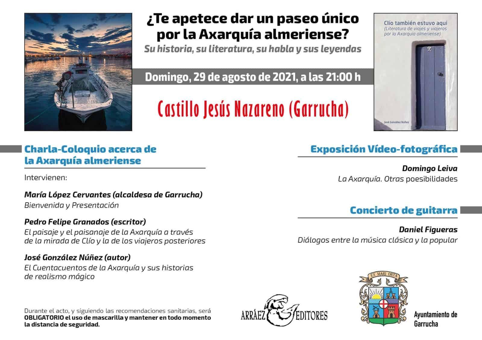 Presentación en Garrucha de Clío también estuvo aquí