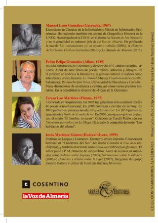Relatos del verano de tu vida en Almería II contraportada